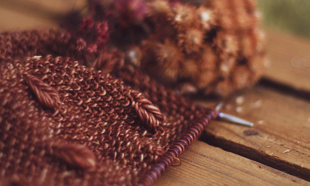 Stunning textured stitch pattern!